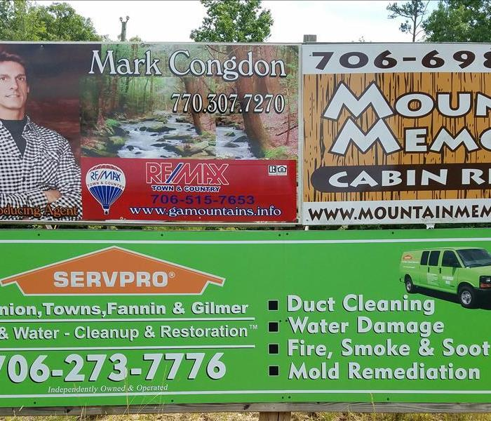 New Sign in Ellijay, GA